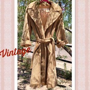 Vintage Briny Marlin Wool Blanket Coat